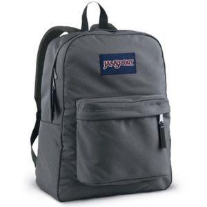 Like New JanSport Grey Backpack